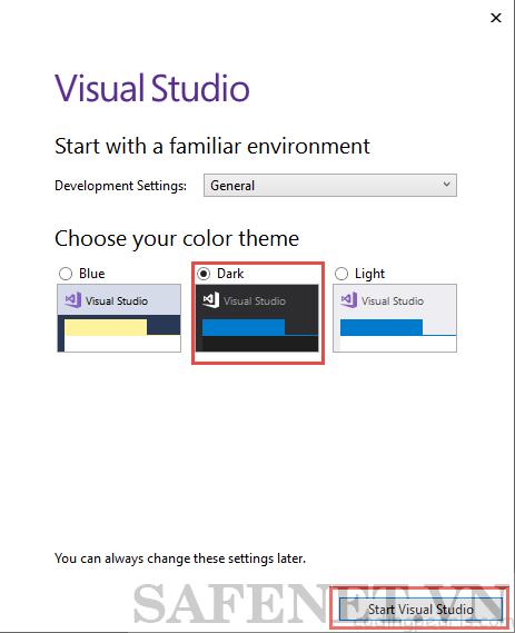 Cài đặt visual studio 2017- B9_result