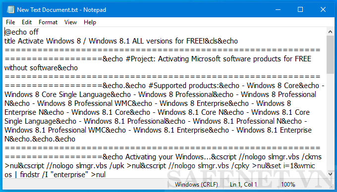Cách 2 Active win 8.1-B2_result
