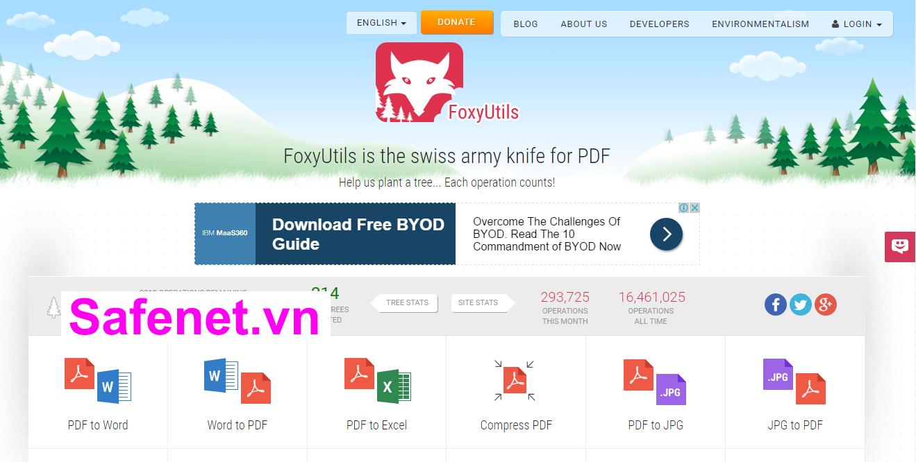 Ghép-file-pdf-bằng-FoxyUtils