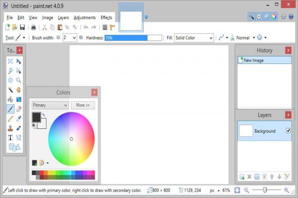 phần mềm chỉnh sửa hình ảnh paint