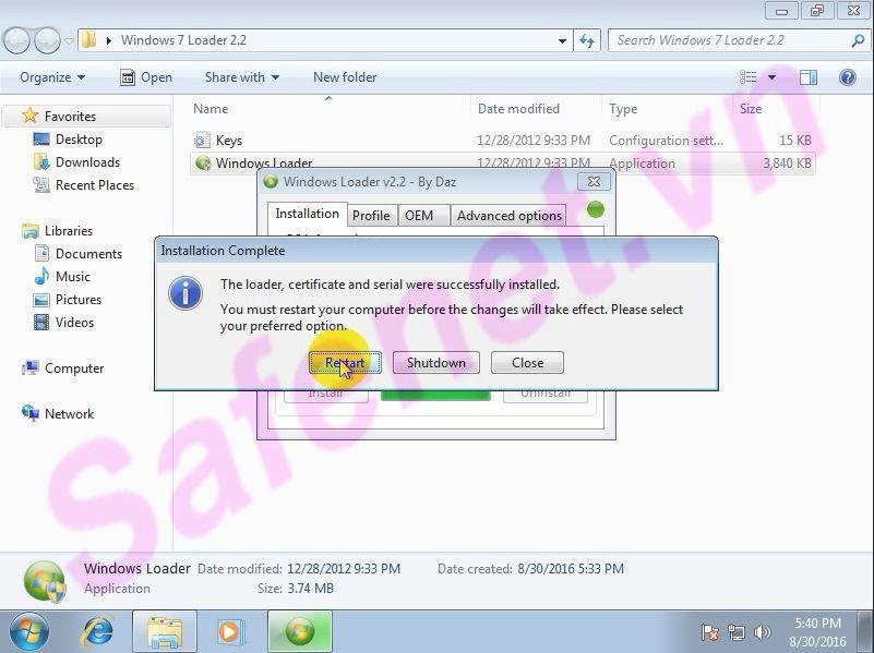 cài đặt windows loader - B3_result
